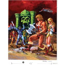 ORIGINAL MASTERS OF THE UNIVERSE ARTWORK