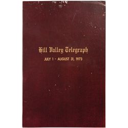 BACK TO THE FUTURE II HILL VALLEY TELEGRAPH SCRAPBOOK