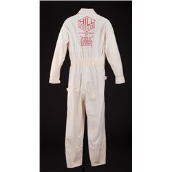 "BACK TO THE FUTURE II ""HILL VALLEY DEPT. OF PUBLIC WORKS"" JUMPSUIT"