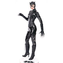 "MICHELLE PFEIFFER ""CATWOMAN"" SCREEN-USED CAT-SUIT"