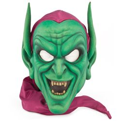 """GREEN GOBLIN"" WALK-AROUND CHARACTER MASK FROM UNIVERSAL STUDIOS THEME PARK IN HOLLYWOOD"