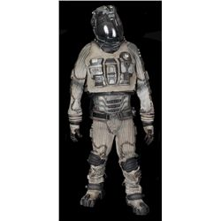 "COMPLETE MICHAEL CLARKE DUNCAN ""BEAR"" ASTRONAUT SUIT AND CHARGING STATION FROM ARMAGEDDON"