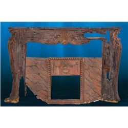 "KATE WINSLETT ""ROSE"" FIREPLACE FROM TITANIC"