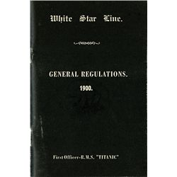 TITANIC GENERAL REGULATION BOOKLET