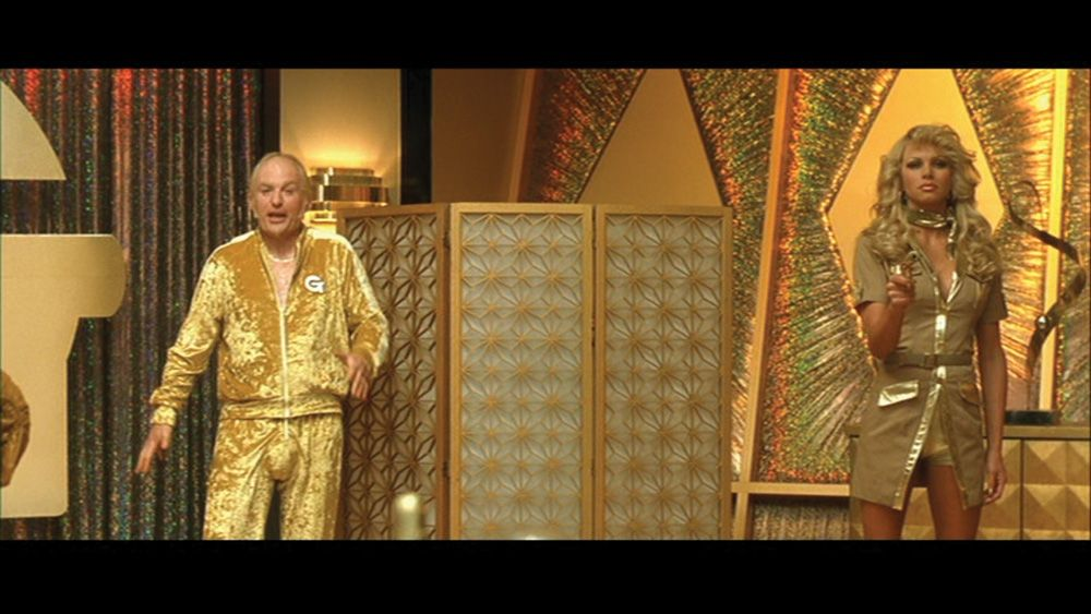 complete mike meyers goldmember costume from austin powers in
