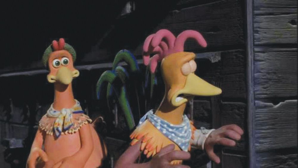 Chicken run rocky and ginger - photo#4