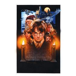 ORIGINAL POSTER ART FOR HARRY POTTER AND THE SORCERER'S STONE BY ARTIST DREW STRUZAN
