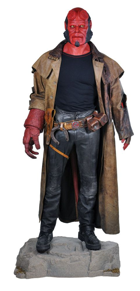 hellboy full costume with hero components loading zoom