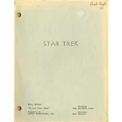 THREE (3) STAR TREK: THE ORIGINAL SERIES SCRIPTS, ONE SIGNED BY GENE RODDENBERY