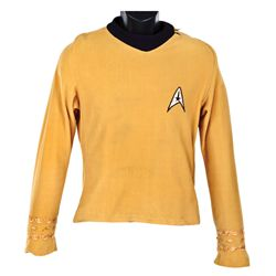 "WILLIAM SHATNER ""CAPT. KIRK"" TUNIC FROM STAR TREK:THE ORIGINAL SERIES"