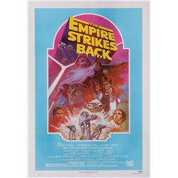 STAR WARS: EPISODE V- THE EMPIRE STRIKES BACK R'82 COLOR-VARIANT ONE-SHEET POSTER