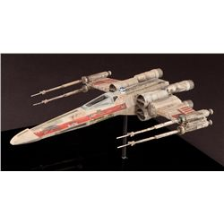 STAR WARS: THE EMPIRE STRIKES BACK PRODUCTION-MADE MINIATURE OF LUKE SKYWALKER'S X-WING FIGHTER