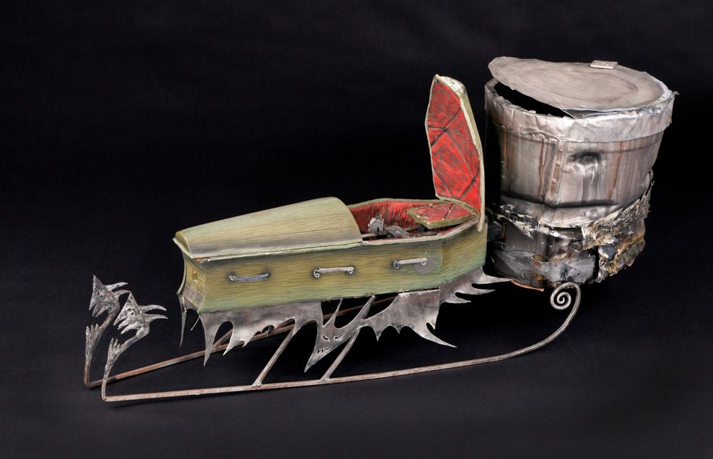 nightmare before christmas full size sled only 2 made loading zoom - When Was The Nightmare Before Christmas Made