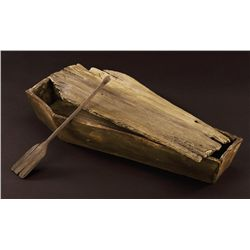 MUSICAL SEQUENCE COFFIN AND OAR