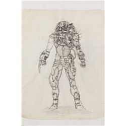 """PREDATOR"" FULL BODY CONCEPT DRAWING FROM PREDATOR"