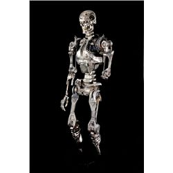 ORIGINAL FULL-SCALE T-800 ENDOSKELETON FROM TERMINATOR 2: JUDGMENT DAY