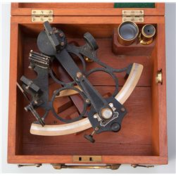 English WWII Sextant