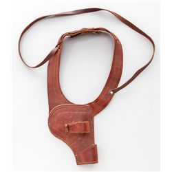 Tooled Leather Shoulder Holster