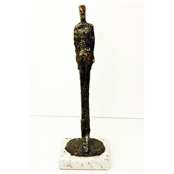 Alberto Giacometti  Original, limited Edition  Bronze -MALE