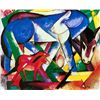 Les Premiers Animaux- Marc - Limited Edition on Canvas