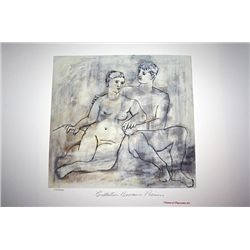 Limited Edition Picasso - The Lovers - Collection Domaine Picasso