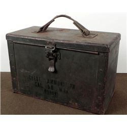 METAL M17-50 CALIBER CHEST AMMUNITION BOX