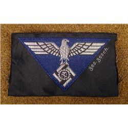 ORIGINAL NAZI TENO (TECHNICAL ENGINEERS) INSIGNIA PATCH