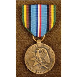1958 US ARMED FORCES EXPEDITIONARY MEDAL WITH RIBBON