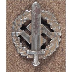 NAZI S.A. SPORTS BADGE EARLY ORIGINAL