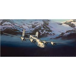 Aviation Art Liberator Jack Fellows B-24
