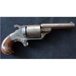 Fine first model MOORE Civil War period revolver. Match