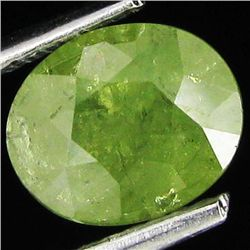 1.66ct Oval Green Demantoid Garnet Madagascar (GEM-29307)