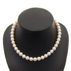 White Saltwater Pearl Necklace (JEW-142)