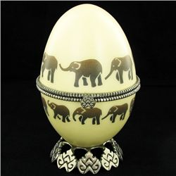 Faberge Style Goose Egg Photo Frame (DEC-586)