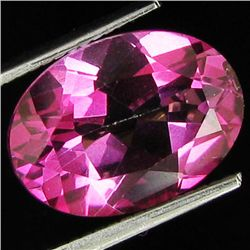 7.08ct Brazil Pink Topaz Oval Cut (GEM-26971S)