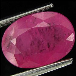 4.3ct Prominent Ruby Winza Tz. Heated Only (GEM-26870)