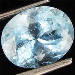 3.1ct Strong Blue Aquamarine (GEM-49100)