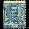 1901 RARE Italy 25c Stamp MINT Hinged (STM-1260)