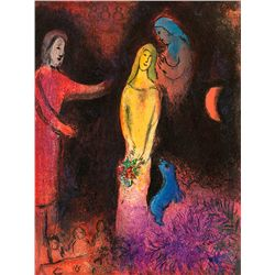 Daphnis- Chagall - Limited Edition on Canvas
