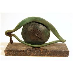 Salvador Dali  Original, limited Edition Bronze -    Eye of Time Brooch
