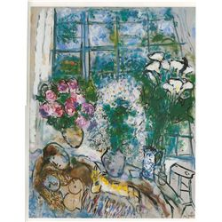 The White Window- Chagall - Limited Edition on Canvas