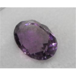 A 2.5 Ct. natural Amethyst gemstone