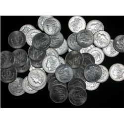 Lot of 40 UNC Morgans - 2 Rolls