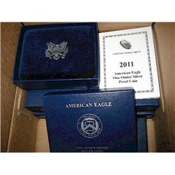 2011 Proof Silver Eagle