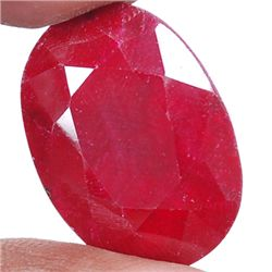 A 2.5 ct. Ruby Gemstone