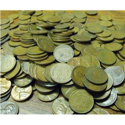 Lot of 400 Wheat Cents