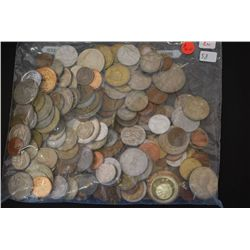World Coins & Tokens; Various Dates, Conditions & Denominations; Lot of 200; EST. $40-60
