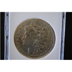 1889-CC Silver Morgan $1; MCPCG Graded F12; EST. $500-1000