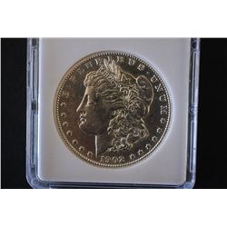 1902-S Silver Morgan $1; MCPCG Graded AU50; EST. $225-325