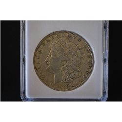 1893 Silver Morgan $1; MCPCG Graded EF40; EST. $200-300